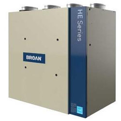 HRV200TE, 226 CFM HE Series High Efficiency Heat Recovery Ventilator Product Image