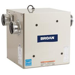 HRV80S, 80 CFM Flex Series Heat Recovery Ventilator w/ Side Ports Product Image