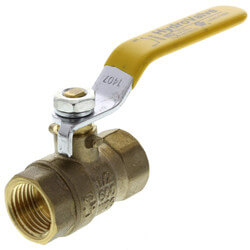 "1/2"" Full Port Threaded Ball Valve, Lead Free"