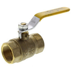 "3/4"" Full Port Threaded Ball Valve, Lead Free"