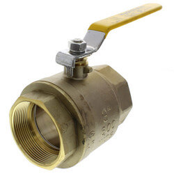 "3"" Full Port Threaded Ball Valve, Lead Free"