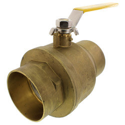 "4"" Full Port Sweat Ball Valve"