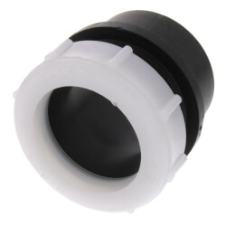 "1-1/2"" Spigot x Slip Joint ABS DWV Trap Adapter Product Image"