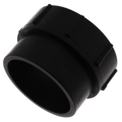 """1-1/2"""" Spigot x FIPT ABS DWV Female Adapter Product Image"""