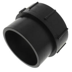 """3"""" Spigot x FIPT ABS DWV Female Adapter Product Image"""