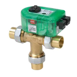 "3/4"", 3 Way Setpoint<br>I-Series Mixing Valve<br>(Union Sweat) Product Image"