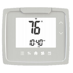 7 Day Prog. Touch Control Dual Power Thermostat w/ Heat Pump (1H/1C) Product Image