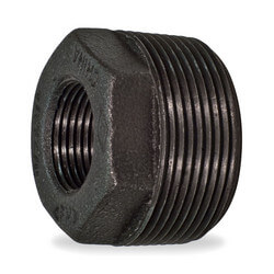 "1"" x 1/4"" Black Bushing w/ Inside Head"