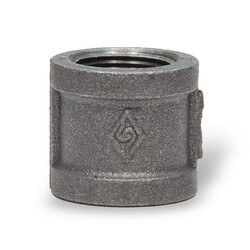 "1/8"" Black Coupling Product Image"