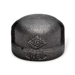 """1/4"""" Black Cap"""