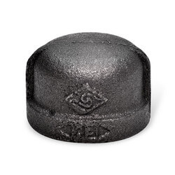 """4"""" Black Cap"""