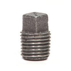 """1-1/2"""" Black Plug"""