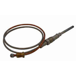 "24"" Nickel Plated Husky High Performance Thermocouple"