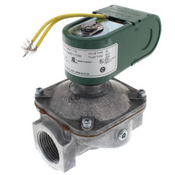 "3/8"" 2-Way Normally<br>Closed Solenoid<br>Valve (120v) Product Image"