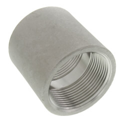 "T304 1-1/2"" Stainless Steel Coupling Product Image"