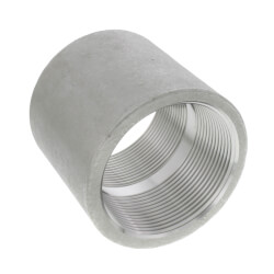 "T304 2"" Stainless Steel Coupling Product Image"