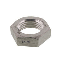 "T304 1/2"" Stainless Steel Locknut Product Image"