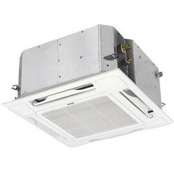 17,500 BTU Mini-Split Ceiling Recessed Air Conditioner - Indoor & Outdoor System