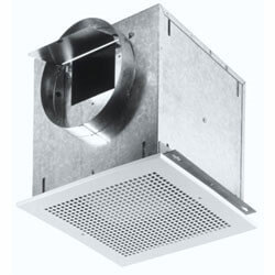 "L100MG Ceiling Mount Vent Fan w/ Metal Grille<br>6"" Round Duct, 115 CFM Product Image"