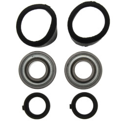 "3/4"" Sealed Ball Bearing with Interlocking Thrust Collar Product Image"