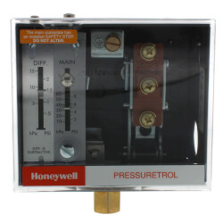 Pressuretrol Controller, Oil Limit, Auto Recycle (5 psi to 50 psi)