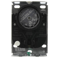 "Fan and Limit Controller w/ 125 F fan on/100 F fan off, 200 F high limit, 5"" insertion"
