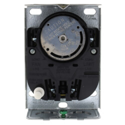 "Fan and Limit Controller w/ 125 F fan on/100 F fan off, 200 F high limit, 8"" insertion"