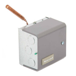 High Limit Triple Horizontal Mount Aquastat Relay, High = 10°F Diff, Low = 10-25°F Adj Differential