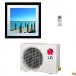 9,000 BTU Art Cool Gallery Single Zone AC/Inverter Heat Pump Package Product Image