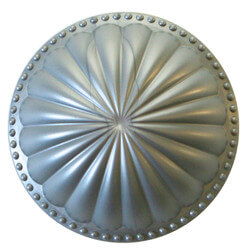 """5-1/2"""" Laguna Dome Cleanout Cover (Seaside Silver) Product Image"""