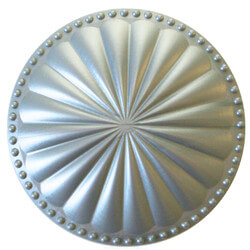 """6"""" Laguna Flat Cleanout Cover (Seaside Silver) Product Image"""