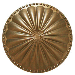 """6"""" Laguna Flat Cleanout Cover (Glamour Gold) Product Image"""