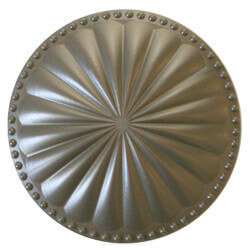 "6"" Laguna Flat Cleanout Cover (Beachnut Bronze) Product Image"
