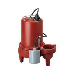 """1 HP Auto Submersible Pump, 208/230V, 25' Cord 3"""" Discharge Product Image"""