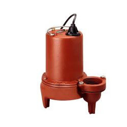 """1 HP Man. Submersible Sewage Pump, 440/480V 25' Cord, 2"""" Discharge,3Ph. Product Image"""