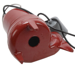 "1/2 HP Auto Submersible Pump w/ Wide-Angle Piggyback Float Switch - 115v - 10 ft Cord - 2"" Discharge"