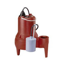 """1/2 HP Auto Submersible Pump, 208/230V, 10' Cord 2"""" Discharge Product Image"""