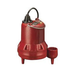 """1/2 HP Man. Submersible Sewage Pump - 208/230V 10' Cord - 2"""" Discharge Product Image"""