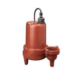 "1 HP Man. Submersible Sewage Pump - 208/230V 25' Cord - 2"" Discharge Product Image"