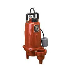 "1-1/2 HP Auto Submersible Pump, 230v, 25' Cord<br>2"" Discharge Product Image"