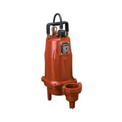 "1-1/2 HP Man. Submersible Sewage Pump - 208/230V 25' Cord - 2"" Discharge Product Image"