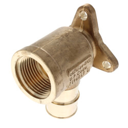 "1"" ProPEX x 1"" FIP Drop Ear Elbow (Lead Free Brass)"