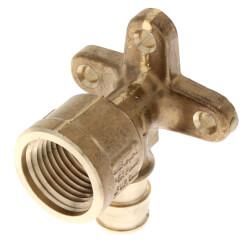 "1/2"" ProPEX x 1/2"" FIP Drop Ear Elbow (Lead Free Brass) Product Image"