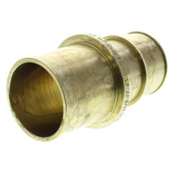 "1-1/4"" ProPEX x 1-1/4"" Copper Fitting Adapter (Lead Free Brass)"