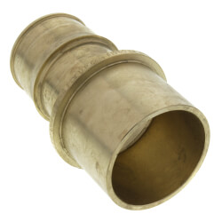 "ProPEX LF Brass Fitting Adapter, 1-1/2"" PEX x 1-1/2"" Copper"