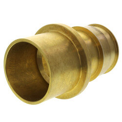 "3/4"" ProPEX x 1"" Copper Fitting Adapter (Lead Free Brass)"