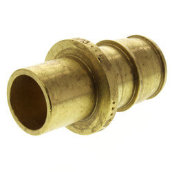 """3/4"""" ProPEX x 1/2"""" Copper Fitting Adapter (Lead Free Brass)"""
