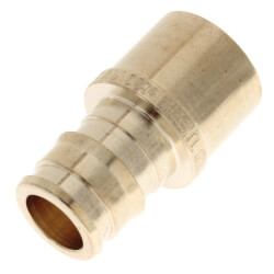 "1/2"" ProPEX Copper Pipe Adapter (Lead Free Brass) Product Image"