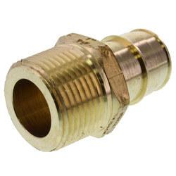 """1"""" ProPEX x 1"""" NPT Lead Free Brass Male Adapter"""