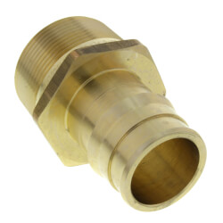 "ProPEX LF Brass Male Threaded Adapter, 1 1/2"" PEX x 1 1/2"" NPT"